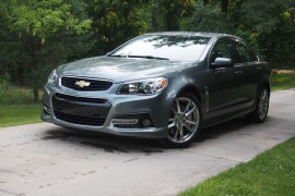 2015 Chevrolet SS Front 04