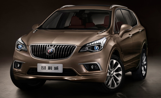 Future US Buick Models to be Built in Europe, China