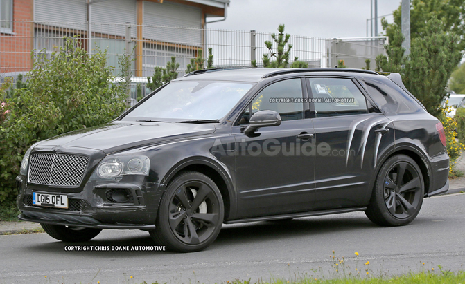 Spot Loan Reviews >> 2017 Bentley Bentayga Speed Shows Off More Aggressive Styling