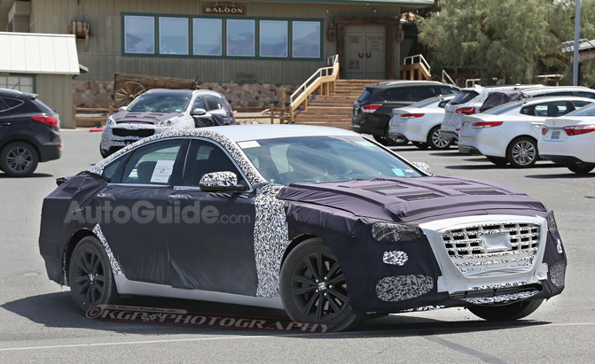 2018 Hyundai Genesis Sedan Caught Testing Twin-Turbo V6