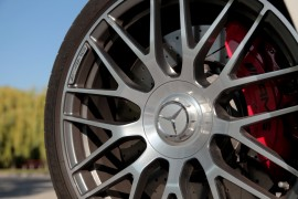 2015 Mercedes-Benz C63 AMG S wheel