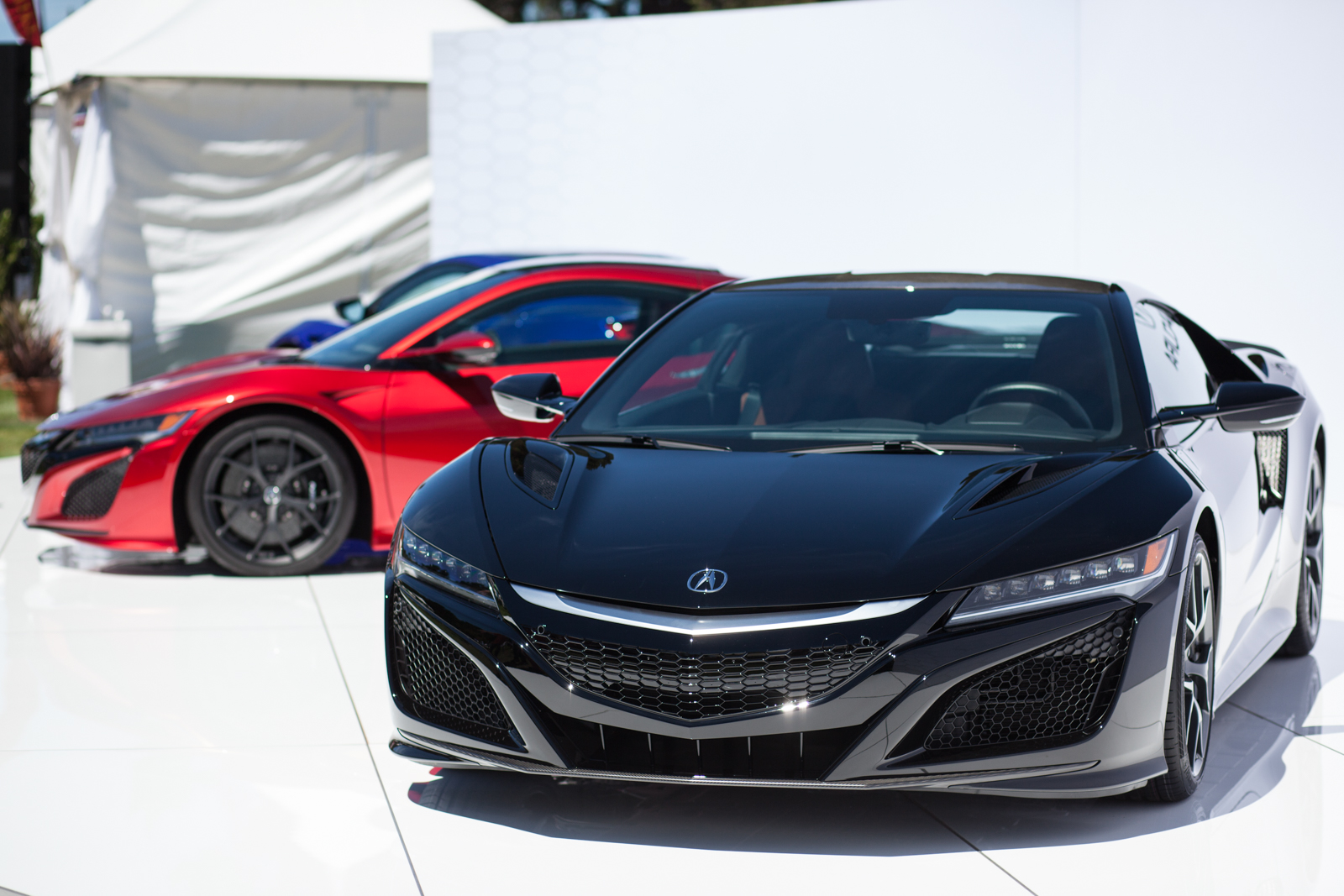 Acura Nsx Looks Just As Stunning In Blue And Black