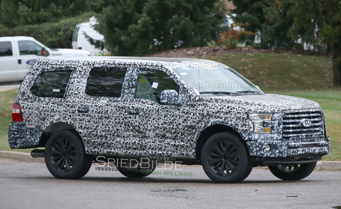 2018 Ford Expedition Going Aluminum To Shed Pounds Autoguide Com News