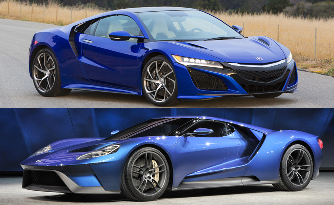 Poll Ford Gt Or Acura Nsx
