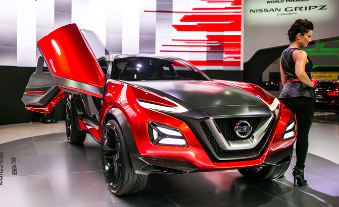 Spot Loan Reviews >> Nissan Crossover Concept Gripz the Road Like a Sports Car ...