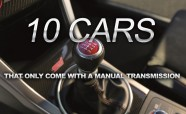 10 Cars That Only Come with a Manual Transmission