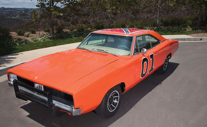 authentic general lee dodge charger heading to auction