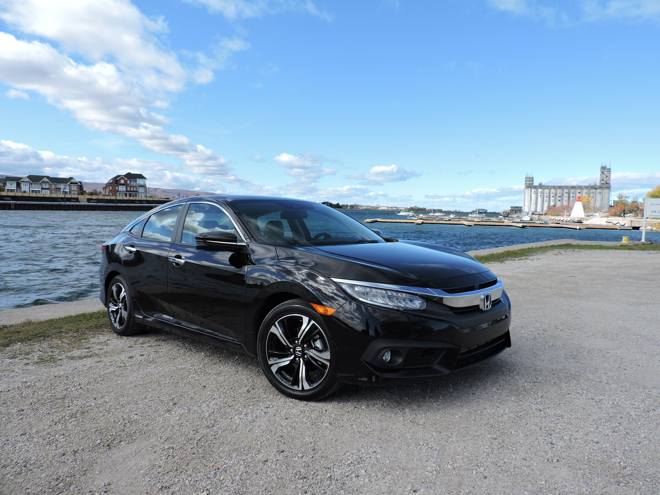 2016 honda civic touring review news