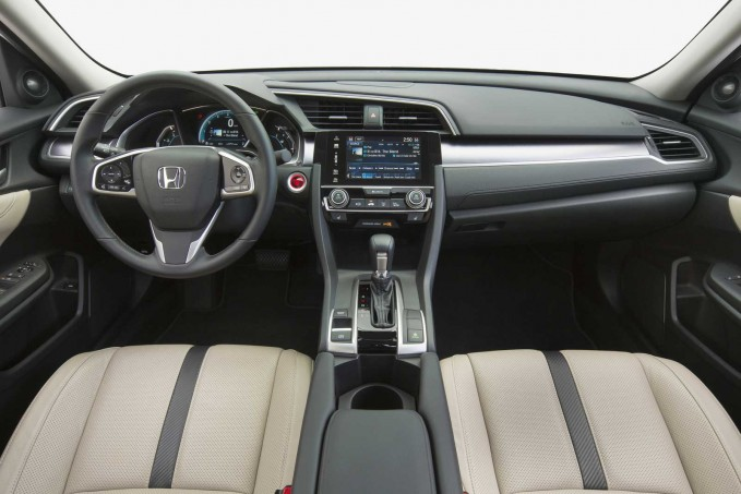 2016 Honda Civic Interior 01