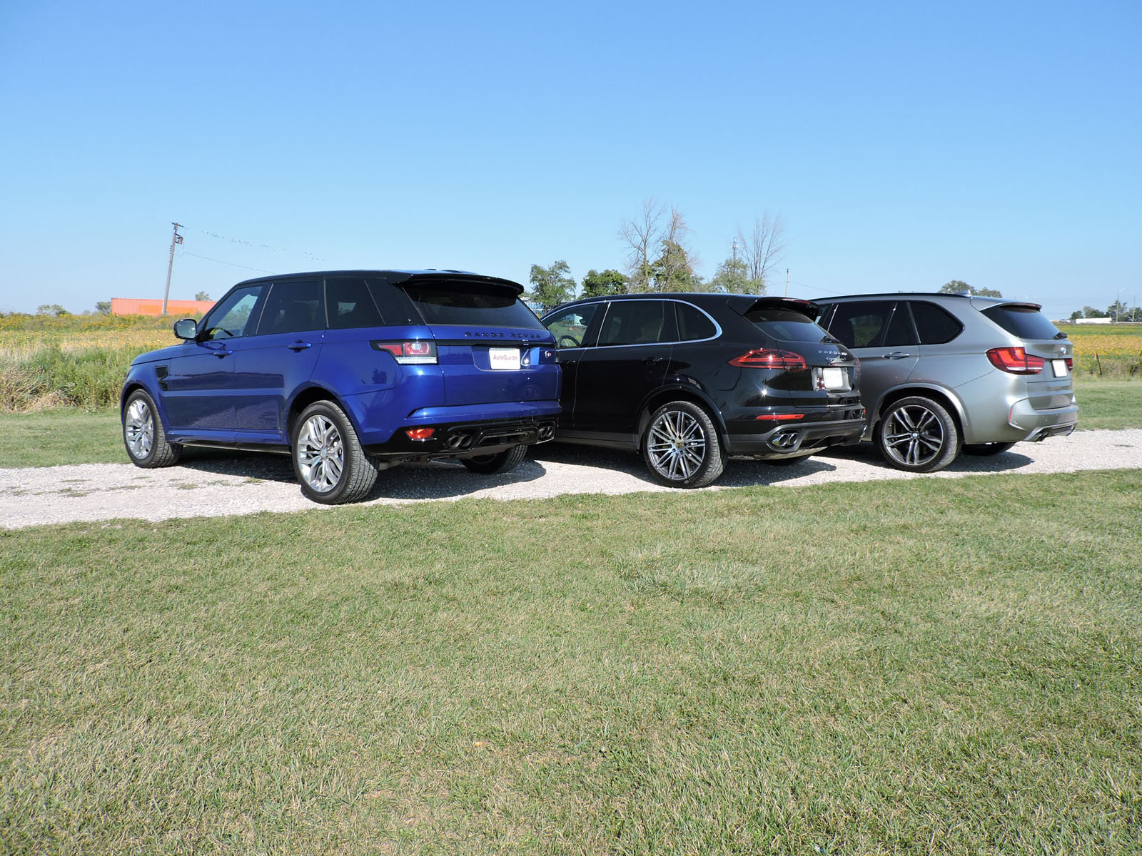 bmw x5 m vs porsche cayenne turbo s vs range rover sport. Black Bedroom Furniture Sets. Home Design Ideas