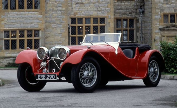 As A Successor To The SS Jaguar 90, The SS 100 Is Considered By Many As The  First Real Jaguar Sports Car Ever Made. Delivering The Performance That The  SS ...