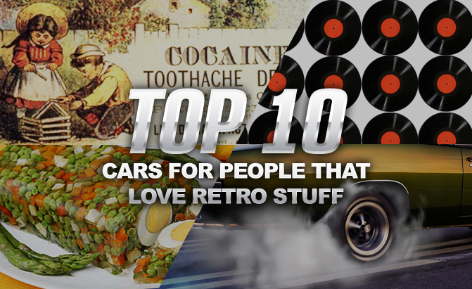 Top 10 Things I Love About You: Top 10 New Cars To Buy If You Love Retro Things
