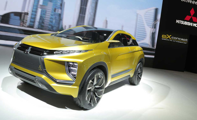 Mitsubishi Ex Concept Video First Look