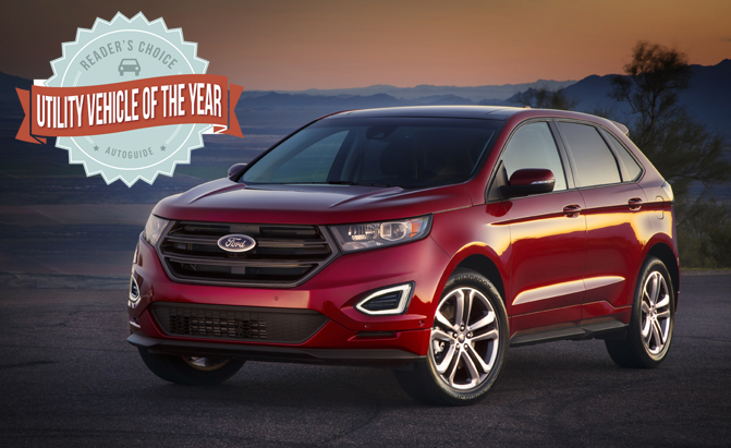 Ford Edge Wins  Autoguide Com Readers Choice Utility Vehicle Of The Year Award