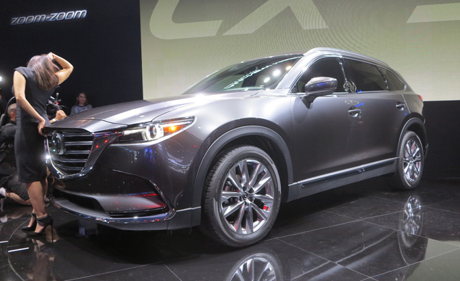 2016 mazda cx 9 bows in la with new styling turbocharged engine. Black Bedroom Furniture Sets. Home Design Ideas