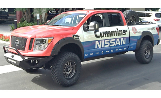Nissan Titan Xd Sema Project Detailed