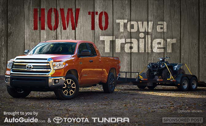 HOW TO TRUCK How To Tow a Trailer AutoGuidecom News