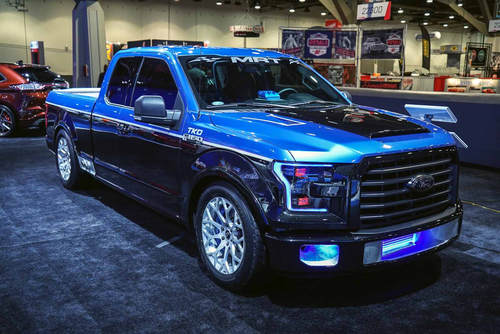 Ford f 150s ready for the track or trails at 2015 sema show autoguide com news