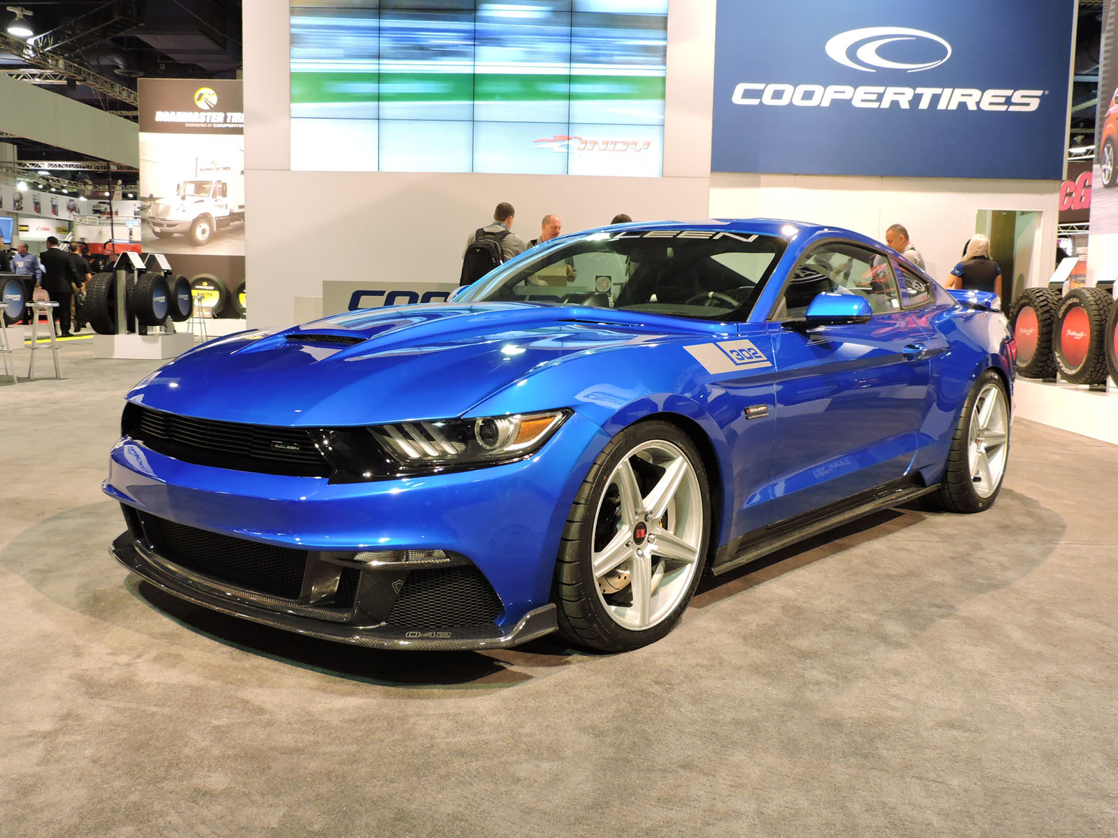 top ford mustangs of the 2015 sema show news. Black Bedroom Furniture Sets. Home Design Ideas