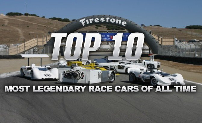 Top  Most Legendary Race Cars Of All Time