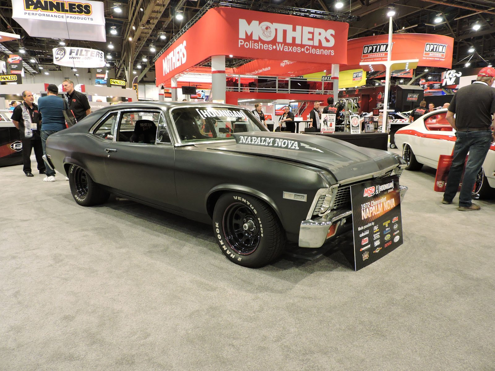 Top 10 classic muscle cars of sema 2015 news for Best american classic cars