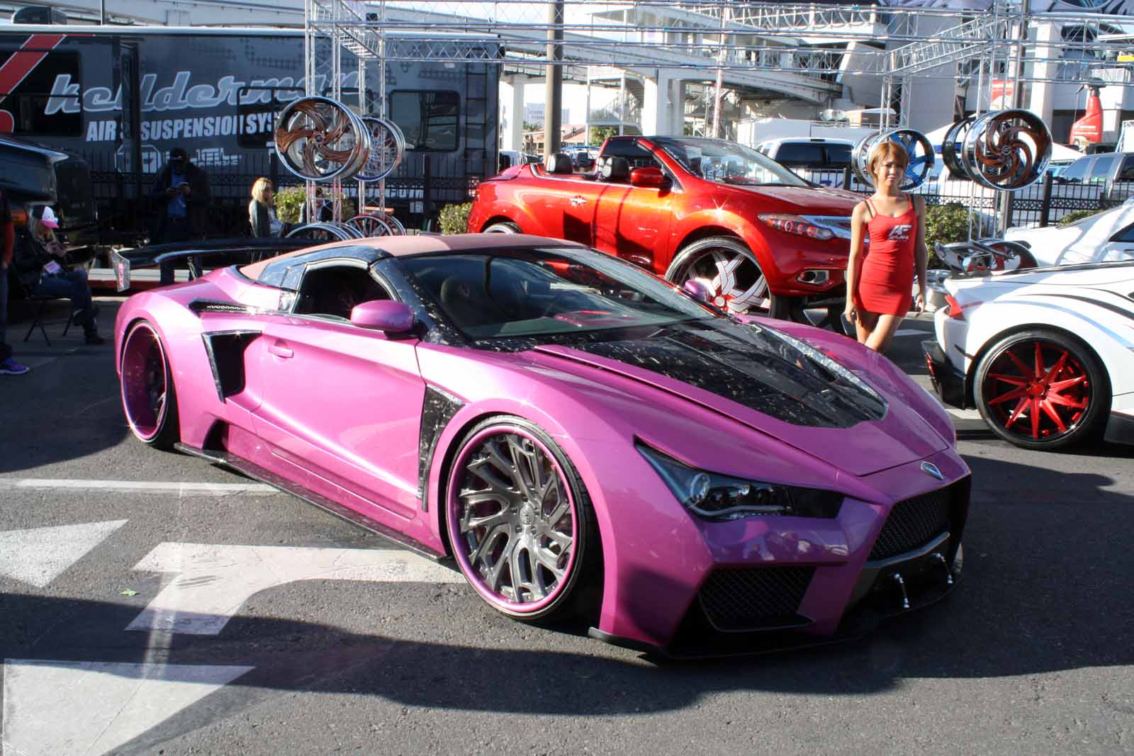 top 10 worst ugly and tacky cars from sema 2015 news. Black Bedroom Furniture Sets. Home Design Ideas