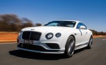 Bentley Continental GT Speed Goes 206 MPH on Video