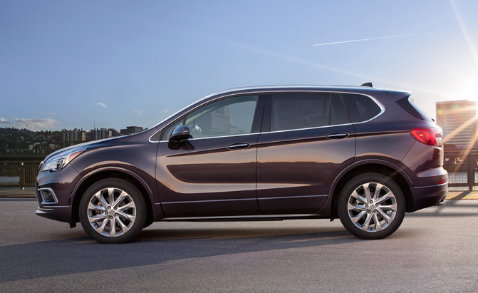 Made In China Buick Envision Crossover Heading To The Us