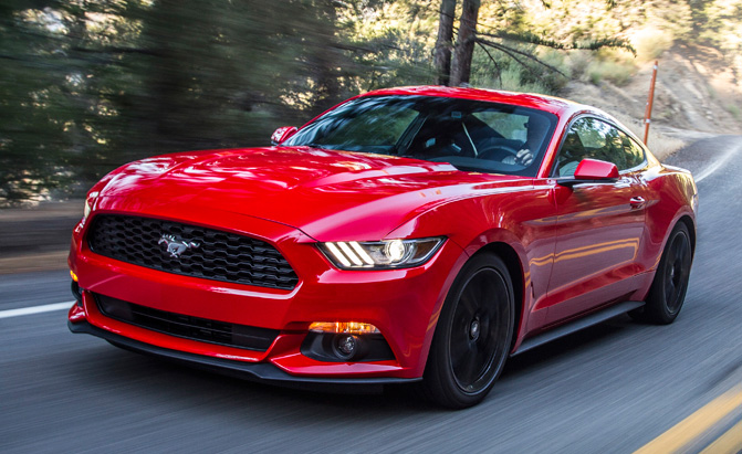 Ford Mustang Stole Muscle Car Sales Crown From Chevy Camaro In 2015