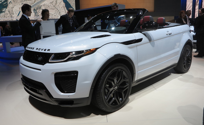 2017 Range Rover Evoque Convertible Video First Look