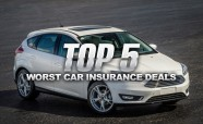 Top 5 Worst Car Insurance Deals