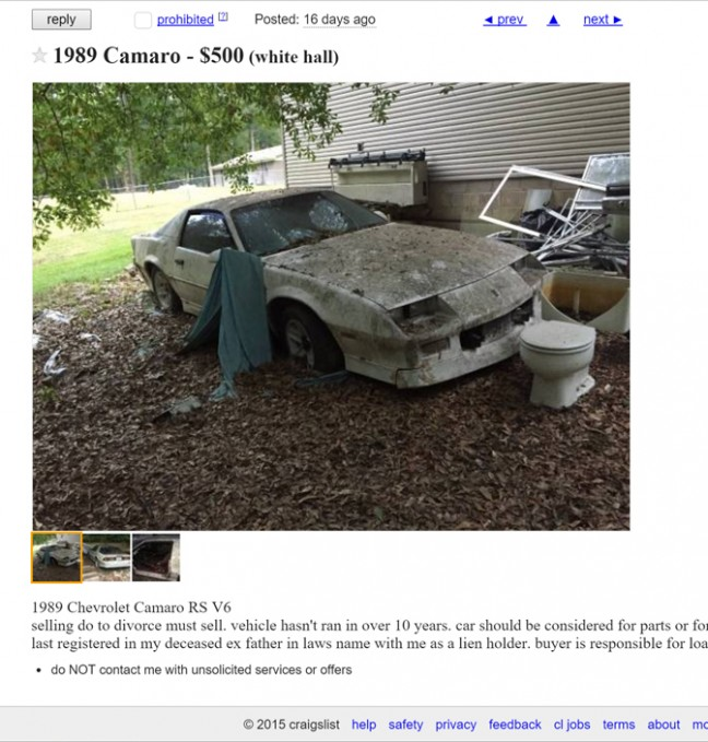 8 Of The Most Hilariously Awful Craigslist Ads We've Seen