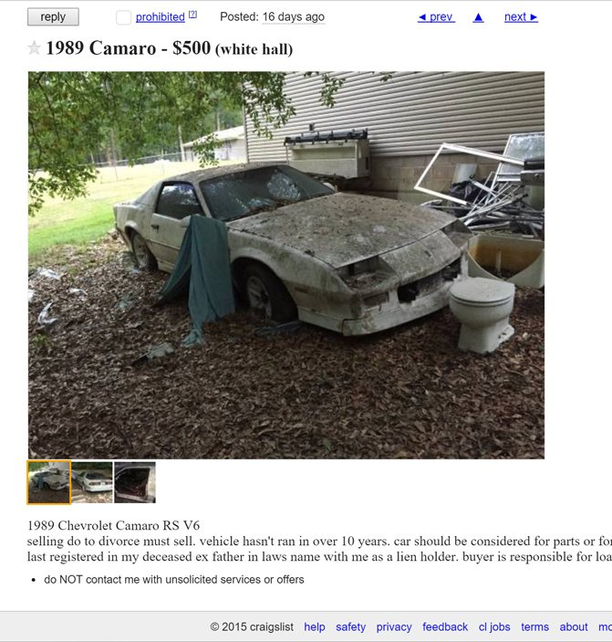 8 Of The Most Hilariously Awful Craigslist Ads We Ve Seen