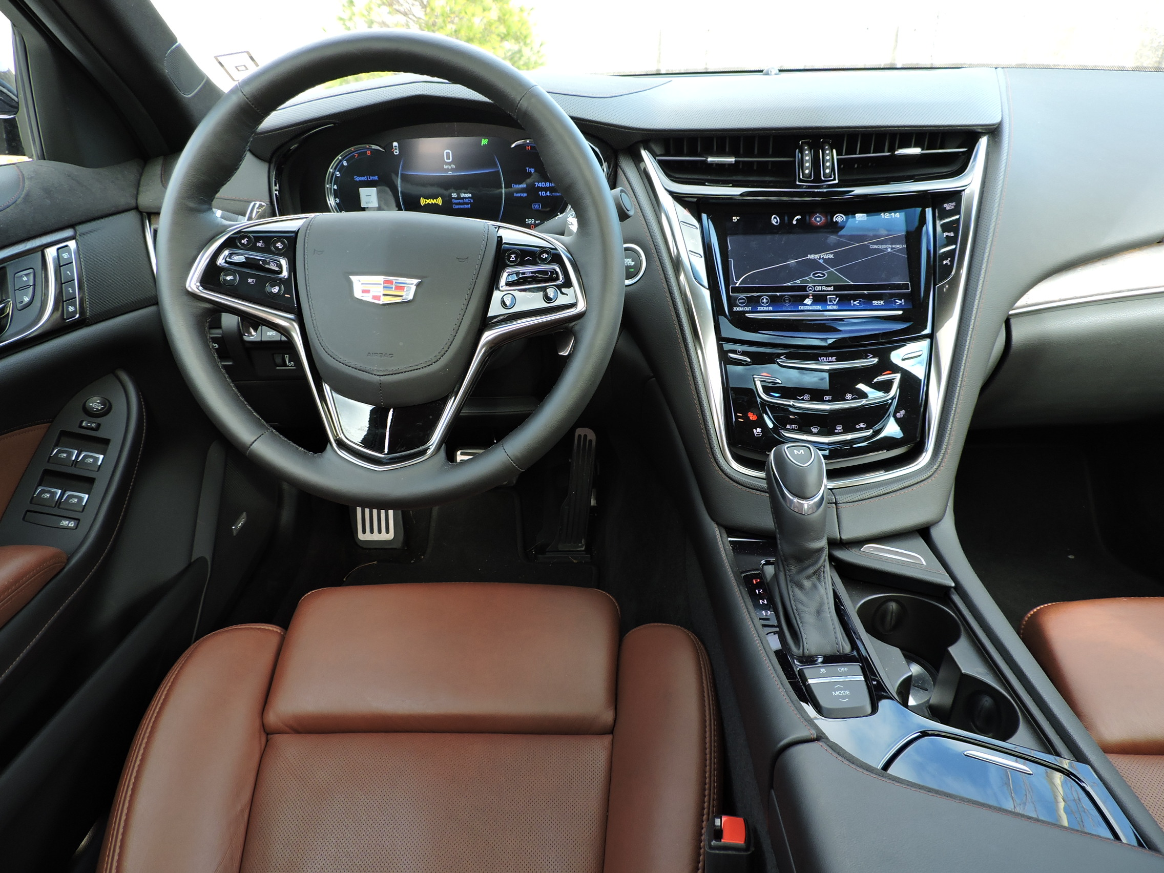 2016 Cadillac Cts 3 6l Awd Review