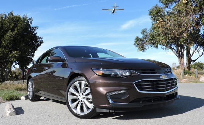 2016 Chevrolet Malibu Review - AutoGuide.com