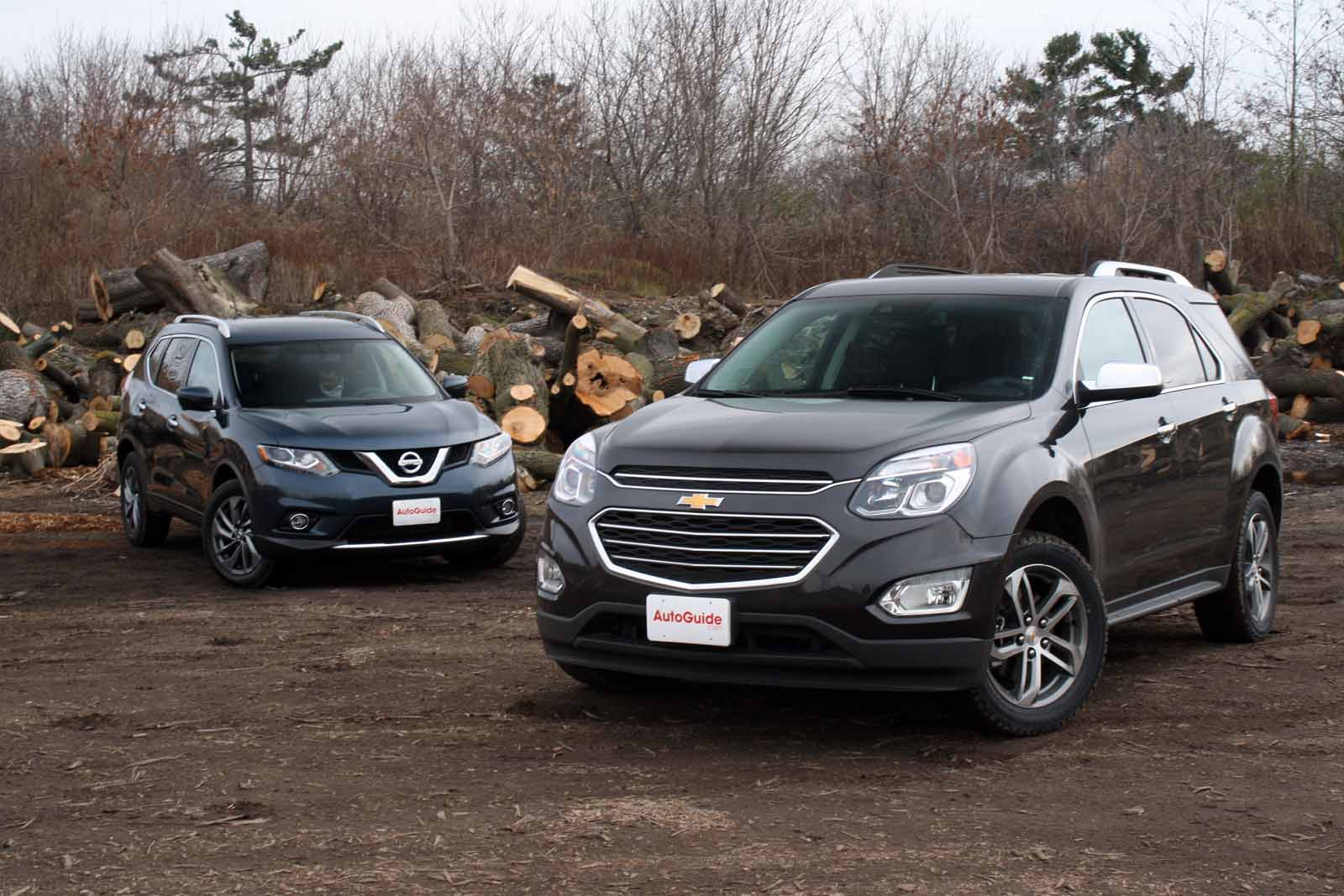 What Does Chevy Stand For >> 2016 Chevrolet Equinox vs 2016 Nissan Rogue - AutoGuide.com