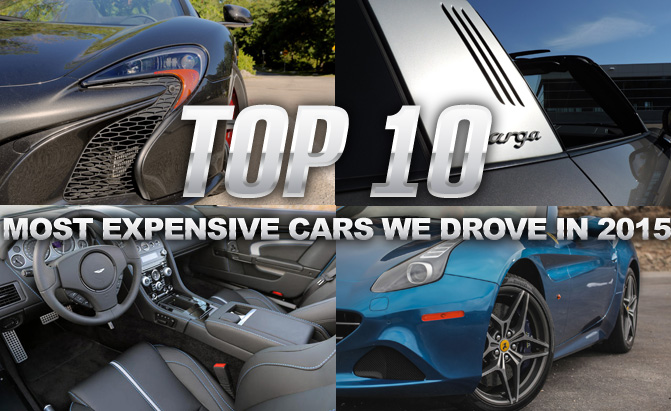 Top 10 Most Expensive Luxury Cars 2015: Top 10 Most Expensive Cars We Drove In 2015 » AutoGuide