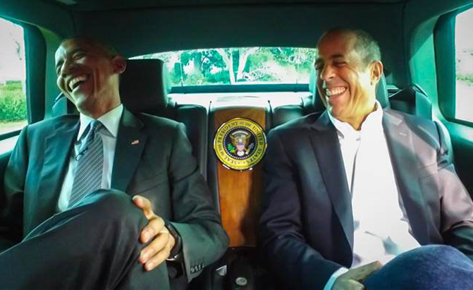 barack obama to guest star in new season of comedians in cars getting coffee news. Black Bedroom Furniture Sets. Home Design Ideas