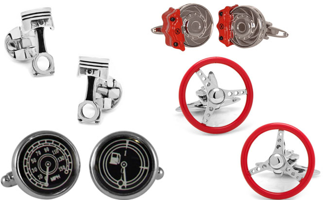 Captivating Maybe You Want Your Car Fan To Wear Their Automotive Enthusiasm Right On  Their Sleeves. In That Case, A Pair Of Classy Cufflinks Will Do The Job  Nicely.