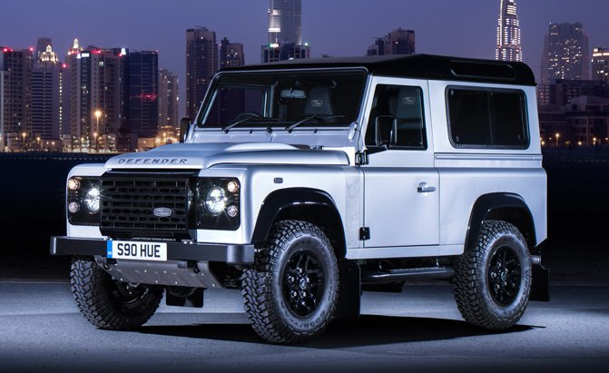 New Land Rover Defender Expected To Debut 2018