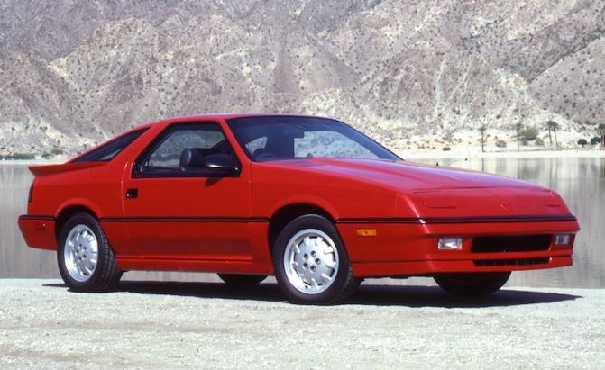 Delightful 1987 Dodge Daytona Shelby Z