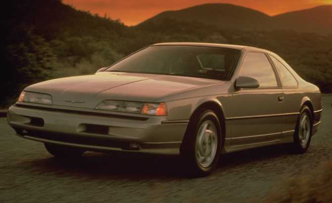 1989 Ford Thunderbird Super Coupe CN 52004 24