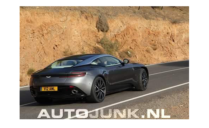 This Could Be The Rear End Of The Aston Martin Autoguide