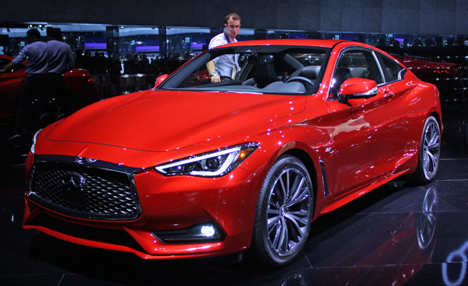 2017 Infiniti Q60 Coupe Gets Turbocharged