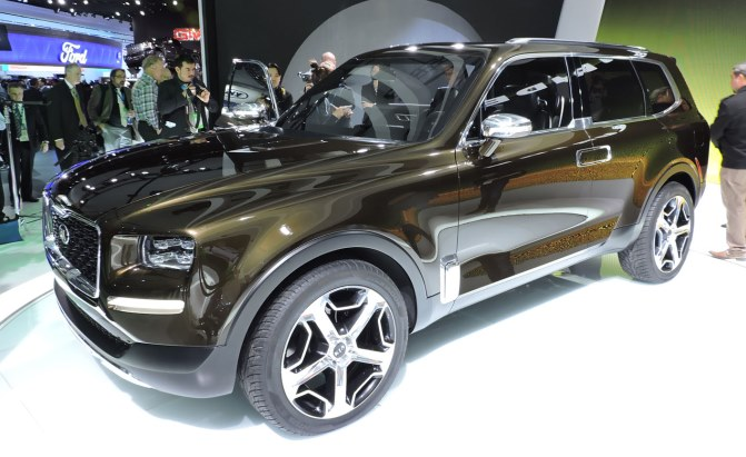 Kia Telluride Concept Looks Ready to Ride » AutoGuide.com News