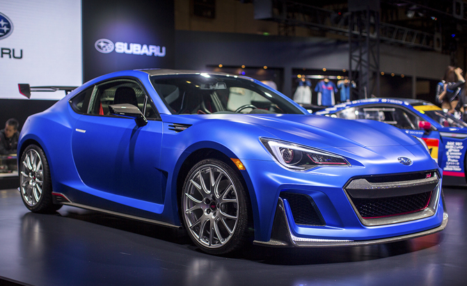 Subaru BRZ STI Sport Concept Plays Games With Our Hearts ...