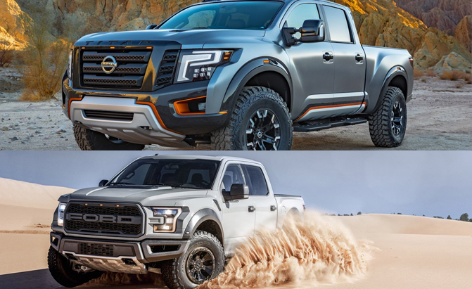 Poll: 2017 Ford Raptor or Nissan Titan Warrior Concept ...