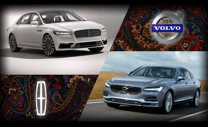 Lincoln Continental or Volvo S90