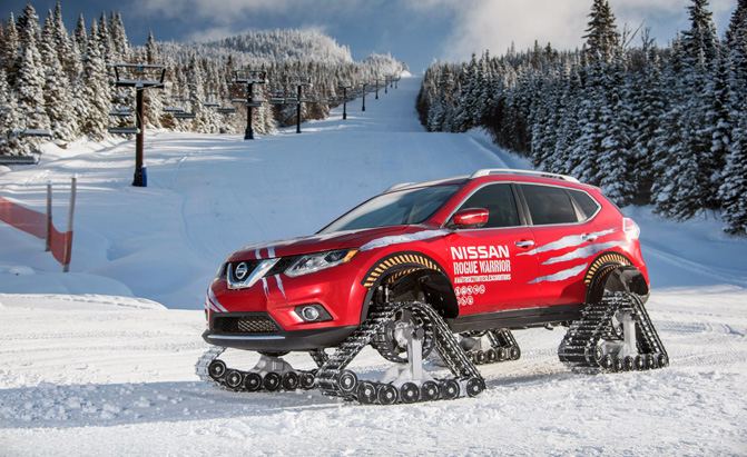 Nissan Rogue Warrior Conquers Frigid Canadian Winter