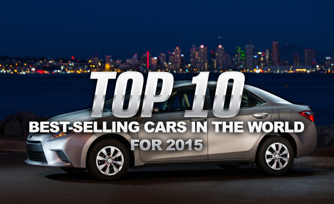 Top 10 Best Selling Cars In The World For 2015